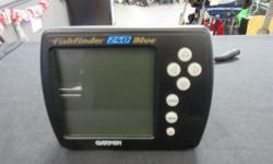 "Garmin Fishfinder 240 Blue 5"" screen, mounting bracket and wiring no transducer"