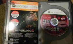 I am selling gears of war 1 and 2 with downloadable content don't have live so I can't use it. both games are in one case