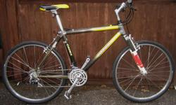 Giant - Cadex - carbon fibre in excellent condition with 26 inch tires This bike, like all the bikes I have for sale, has been inspected, cleaned and repaired front to back including wheel straightening. You are getting a restored bicycle that should last
