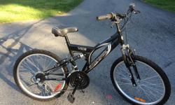 """Girl's or small woman's bike, 24"""" wheels, recent tune up, new gears, good tires, very good condition"""