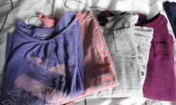 4 long sleeve tops, size 10-12 2 long pants, size 10 all in excellent condition