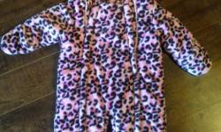 Winter / snow suit for 12 month girl. Barely used. Smoke free home. Fully lined with two zippers. George brand. Super cute!