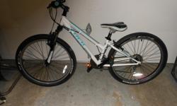 "a girls 13"" 820 trek mountain bike white. asking 200 great for x-mas time"