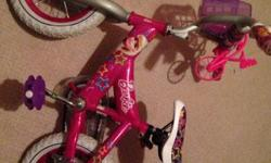 Excellent condition Used a couple times Comes with training wheels
