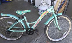 """24"""" tires 6 gears good shape. Kick stand included."""