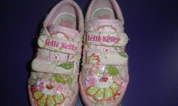 Lelly Kelly runners with sequins Girls Size 1     From a smoke free home If it is posted it is still available I live in Innisfil, but am able to meet/deliver to Barrie area Check out my other ads here on kijiji Or go to