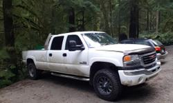 Make GMC Model 3500 Year 2007 Colour white kms 330000 Trans Automatic 2007 Classic Duramax LBZ SLE 4dr cloth 8ft longbox 330,000km The good Rebuilt motor with 140km installed 5,000km ago and all new parts 5,000km ago FASS Fuel system with BD tank sump, BD