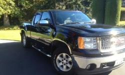 Make GMC Model Sierra Year 2008 Colour Black kms 200 Trans Automatic Very Clean Sierra Z71 4 x 4 - Vortec 5.3with active fuel management, reclining front bucket seats, 6 way power seat adjusters driver and passenger, automatic climate control dual zone,