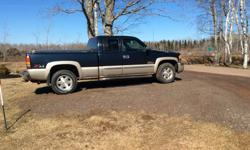 Make GMC Model Sierra 1500 Year 2006 Colour Blue Trans Automatic Works great ac dual climate control 5.3 v 8 could use a paint job