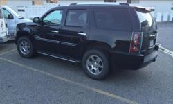 Make GMC Model Yukon Denali Year 2007 Colour Black kms 183000 Trans Automatic 2007 GMC YUKON DENALI Fully loaded and more!!!! 183,000 kms Lady driven & no accidents!!! -NEW tires less then 1000kms -black leather interior -navigation -rear tv -back up