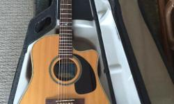 This is no ordinary Godin Seagull acoustic. Made in Quebec, Godin provides great Canadian instruments. This acoustic is provided with an LR. Baggs ibeam duet pickup. Do some research on the Artist Cameo addition. Great condition, not one scratch on it !