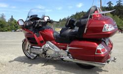 2010 1800 gl goldwing 63,600km extras. towing package, Maintenance records, last service done. + all fluids , new rear tire. Brakes 60% Ready to go!