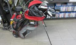 Adam Idea Golf Clubs in bag