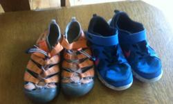 Good shoes for sale - Nike running shoes and Keen walking shoes. All in good shape. $25/each or $40 for both pairs