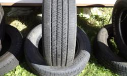 Good-Year Integrity (2) 225/60R15 , 60-65% tread asking $70 or best. Were on 2000? Impala.call or email will reply same day.