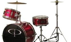 Starter kit for 5 - 7 year old. One year old, excellent shape. Same as photo, minus hi-hat. Bought from Long & McQuade.