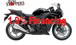Come to the store and check the great deals on the 2011 CBR250R and CBR250RA...   SPECIAL FINANCING: 1.9% Financing  MATCH DEPOSIT: Up to $250 LOYALTY OFFER: $100 loyalty offer for Honda owners (any Canadian Honda product) HONDA PLUS: 2 year no-charge