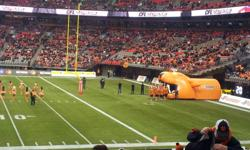 See the BC Lions vs. Winnipeg Blue Bombers in the 99th Grey Cup. Selling 2 tickets, sec 211, row R, seats 8 & 9. Great seats between the 15 and 20 yard line.  Season ticket holder with hard copy of tickets, attached view from seats and pictures of