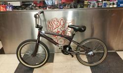 """BMX trick bike looking for a good home where it can be active and loved. Comes with a sticker saying """"I (heart) P.P."""" So if you love someone with these initials OR if these are your initials and you want to give this bicycle as a gift, consider it a perk."""