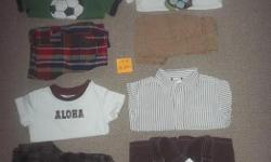 Everything is in excellent condition come from smoke free low scent home. Gymboree and Gap, firm on price. Each picture has a little post-it with Lot #, from left to right. Lot 6 $35 Lot 7 $15 Lot 8 $30 Lot 9 $30 Lot 10 $30 Lot 11 $30