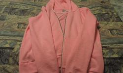 Bright pink H & M hoodie size medium