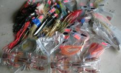 (((Open this ad to view all that is listed.))) HALIBUT and TUNA FISHING LURES. I have halibut and tuna fishing lures mostly from $1.50 to $5.00 each There are several with curved hooks and braided steel leaders. The most are from $2.00 to $3.00 each. In