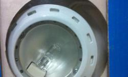 Halogen Under cabinet flush mount lights - clean, like new - includes all cables, 3 lights, switch and AC plug - easy to install - can deliver to Regina