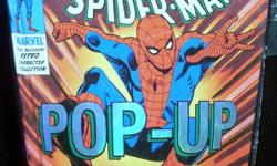 Hard Cover Comics : The Amazing Spider-man Pop-Up Book (2007) $25, Amazing Spider-man Spirits of the Earth ($28), Batman Archives (vol.1 and vol.2) $50 each, The Supergirl Storybook (1984) $8, Tazmanian Tales (2000) $10, The Trigan Empire (1978) $20,