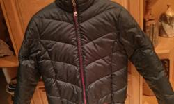 """High quality, fully reversible L.L.Bean winter jacket. Very warm and comfortable. Insulated with goose down. Zippered pockets on one side, open pockets on reverse. Worn only a few times (""""like new"""" condition). More photos available for serious inquiries."""