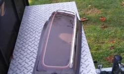 Harley saddle bag lid in good condition. Fit's 80s to 90s bags