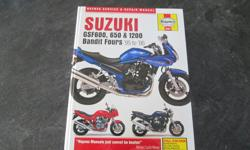 Haynes service and repair manual for Suzuki GSF600, 650, 1200 Bandit Fours. 1995-2006 Hardcover. $20 obo