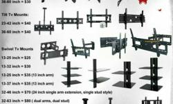 Lowest prices for tv bracket wall mounts, dvd audio video shelf, projector celing mount, desk brackets. Ph: 6 0 4 2 8 8 8 6 27 High quality lowest prices for HD cables such as hdmi vga dvi network lan usb mini displayport thunderbolt digital audio optical