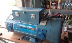 Red Line electric Inverter. Like new condition. Used one time only. This model DA14L-1600C Honeywell Redi-Line inverter works great with zero issues. the serial number is 6327. Comes with cable (approx. 10 feet) and manual as seen in the photo's. This