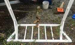 Powder coated white aluminum headache rack. Fits long box full size pick up. Obo