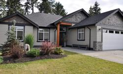 # Bath 2 Sq Ft 1805 Meticulously finished situated on a south facing 0.26 acre in Parksville BC! This stunning 3 bedroom + den 1,805 sq. ft customized energy efficient home (built in 2014), is located three blocks from the Parksville Beach. With alluring