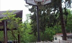 Selling an outdoor basket ball hoop that was custom constructed with welded metal for stability and sturdiness. This hoop must now be sold as, house is being sold as part of an estate. Offering a great to deal to have this hoop hauled away. Asking $50.00,