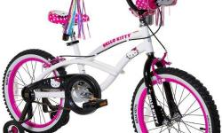 HELLO KITTY Bicycle... Gently Used... Smoke-free, Pet-free home and carefully stored. Ideal for ages 4-7