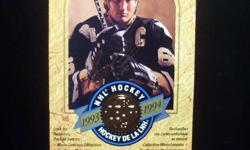 Bowman Hockey 1990 - complete set of 264 cards plus the Hat Trick Set of 22 cards ($20), Leaf Hockey Series 1 (1993-1994) - complete set of 220 cards ($20), Leaf Hockey Series 2 (1993-1994) - complete set of 220 cards ($20), O-Pee-Chee 1992-1993 -