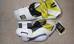 Warrior AX1 elbow pads, new with tags, men's large, pro level pads.