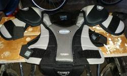 Youth medium shoulder pads for sale In good shape.