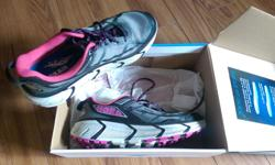 Hoka Challenger ATR women's size 9.5, grey/ pink Basically new, in box, with two sets of insoles. I used them on two short runs and they just don't work for my feet. $80 OBO