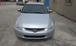Make Honda Model Accord Sedan Year 2005 Colour silver kms 170000 Trans Automatic Hi I am selling my 2005 Honda EX Accord in excellent condition. A/C, CD Player, Satellite Radio Station, Leather Heated Seats, Automatic tinted windows, Sunroof, Front axel