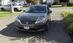 Make Honda Colour Green Trans Automatic kms 26000 Honda Accord Touring, Black leather interior, 4 door sedan, no key unlock and start, blue tooth, aviation, heated front seats, memory seat adjustment,air conditioning, fully loaded and in great shape. Only