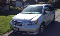 Make Honda Colour Silver Trans Automatic kms 101600 New front brakes and Rotors, also just serviced. Leather seats. Heated front electric seats, Reversing camera. Stow n Go seating. Captains Chairs. CD system takes 6 CD and will play music from phone.