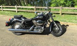 2003 Honda Shadow 750 American Classic Edition (ACE). In good shape and runs great. Has 60K Also have saddle bags and the sissy bar. Sissy bar just needs a cushion.