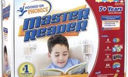 NOTE - two of the stickers have already been placed on the poster. Otherwise this is in brand-new condition and all the pieces are included in the original box. Hooked on Phonics Master Reader was designed especially for children ages 7 and up who have