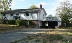# Bath 3 Sq Ft 2000 MLS 368469 # Bed 4.5 This flat 2.06 acres with an older 3 stall horse barn, a 50 ft green house with grapevine, and a wired workshop (20x19). The house has newer furnace, 2 electric fireplace inserts, heat pump and 2 year old high