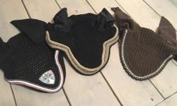 Three horse sized bonnets. Take all three for $60 or will sell separately for $25 each. Great condition, rarely used.