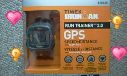 Wow! For Sale: TIMEX® IRONMAN® RUN TRAINER? 2.0. Brand new. Still unopened in box. After your workout, review your map and performance data with Timex's free online training log powered by TrainingPeaks?. Itincludes a heart rate monitor with Flex Tech?