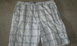Hurley Shorts size 34 mens. Bought new in the winter went to wear them in the summer and they were too big. Really nice shorts wish they fit.
